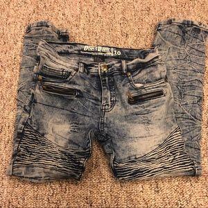 Boys Denim & Rivets Skinny Jeans